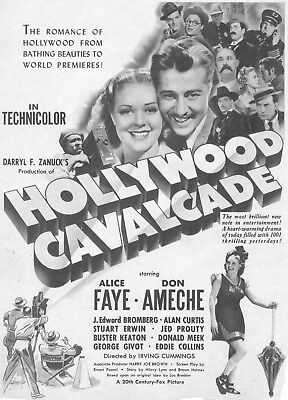 Hollywood Calvalcade Movie Poster 8X10 Reproduction Photo