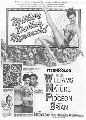 Million Dollar Mermaid  Movie Poster 8X10 Reproduction Photo