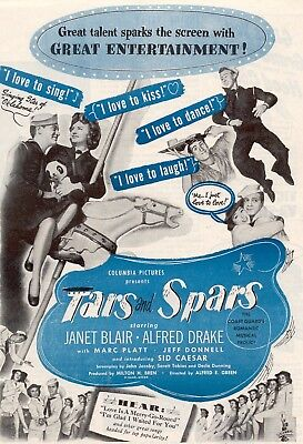 Stars And Spars Movie Poster 8X10 Reproduction Photo