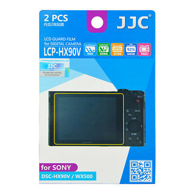 2 x LCD Screen Protector Guard for Sony camera DSC-HX90V WX500