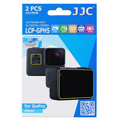 JJC 2x LCD Screen Protector Guard for GoPro Hero5 Digital Camera Go Pro Hero 5