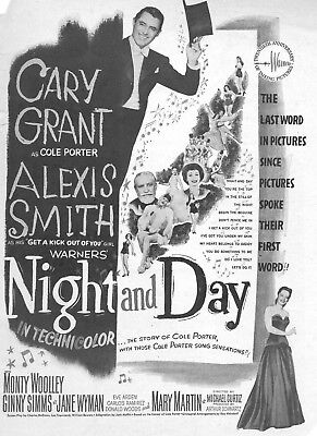 Night And Day Poster 8X10 Reproduction Photo