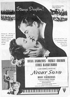 Night Song Poster 8X10 Reproduction Photo