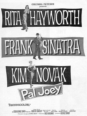 Pal Joey Movie Poster 8X10 Reproduction Photo