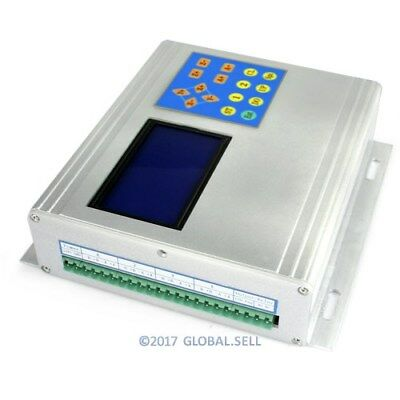 4 Axis CNC TB6560 Stepper Driver Aluminium Box Set + Manual Controller + Display
