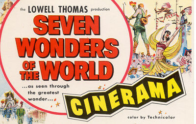 Seven Wonders Of The World  Movie Poster 8X10 Reproduction Photo