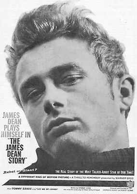 The James Dean Story  Movie Poster 8X10 Reproduction Photo