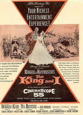 The King And I  Movie Poster 8X10 Reproduction Photo