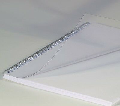 A4 Clear Binding covers 250 Micron Renz (pack of 100)