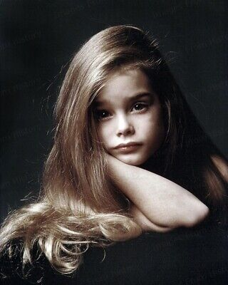8x10 Print Brooke Shields Cute Color Portrait #BSAA