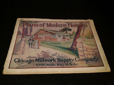 1913  Chicago Millwork Supply Co Advertisement Brochure