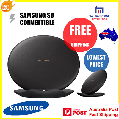 Samsung Wireless Fast Charger charge Convertible For Galaxy S8 & S8+ & iphone8