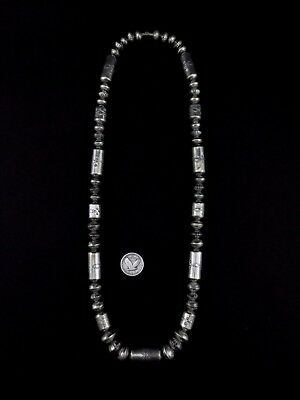 Navajo Sterling Silver Beads
