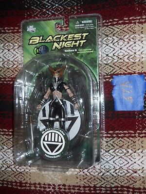 V25_11 DC Direct Lot BLACK LANTERN HAWKGIRL Blackest Night Series 6 Figure MOSC