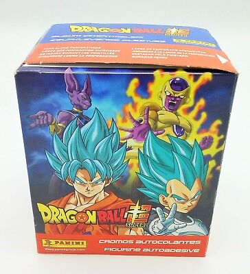 PANINI BOX 50 Bustine DRAGONBALL SUPER packets figurine Stickers tuten DISPLAY