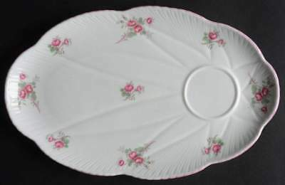 Shelley BRIDAL ROSE Snack Plate 10398776