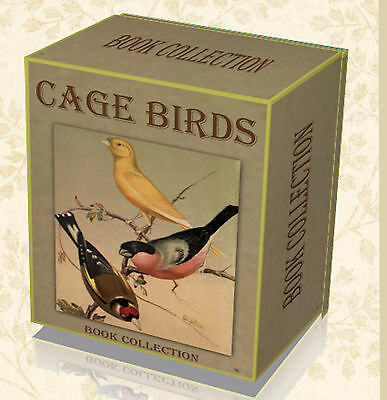 123 Rare Books on DVD - Cage Birds Canary Parrot Finch Budgie Breeding Aviary 60