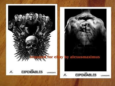 THE EXPENDABLES rare Press Kit with30 Photo Set SYLVESTER STALLONE Jason Statham
