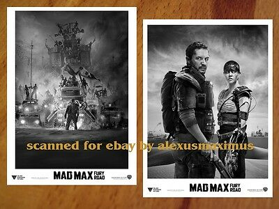 MAD MAX Fury Road rare PRESS KIT with 40 B&W Photos Tom Hardy CHARLIZE THERON