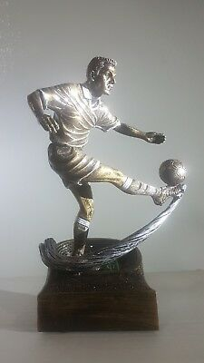 soccer trophy resin 3d action. Box of 12
