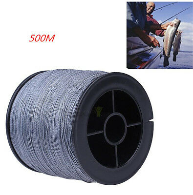 500M Super Strong Dyneema Spectra Extreme PE Braided Sea Fishing Line Rope 60lb