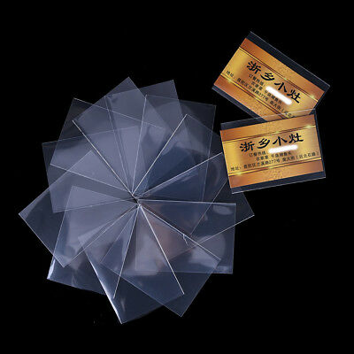 50pcs/pack 66*91mm new thick card sleeve protector transparent unsealed gameHGUK