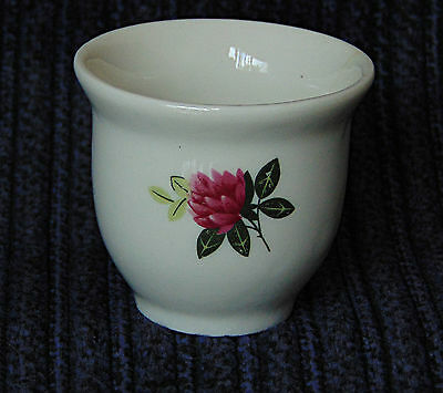 Egg Cup - Simple Red Rose - 0531