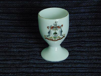 Egg Cup -  Glasgow coat of arms crest - 0651