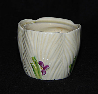 Egg Cup -  Small cup with Irises - 0503