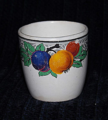 Egg Cup -  Blue, Yellow & Red Fruit - 0408