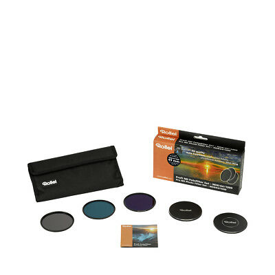 Rollei Profi ND Fotofilter Set ND8 (3 Stops)/64 (6 Stops)/1000 (10 Stops)