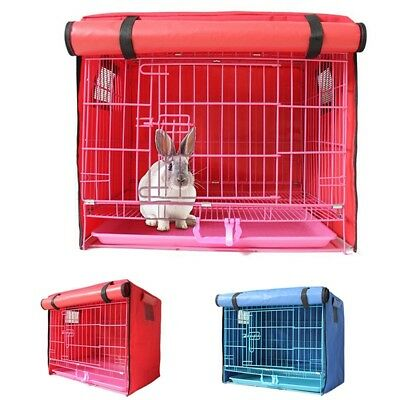 Newest Pet Dog Cage Cover Rabbit Crate House Shelter Rainproof Kennel Supply