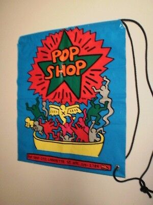 Keith Haring Pop Shop Shopping Bag - Lafayette St, NYC