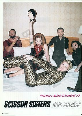 Scissor Sisters - Clippings From Japanese Magazine Rockin'on October 2006