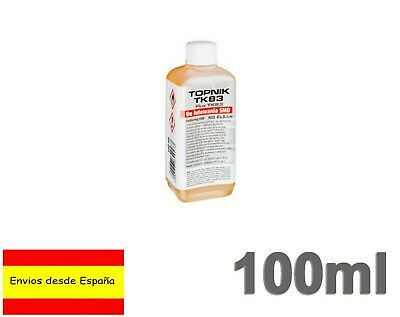 Flux Liquido 100ml cuerpos sólidos soldadura Colofonia base de alcohol TK83 Q017