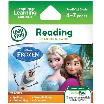 Leap Frog Learning Game Frozen