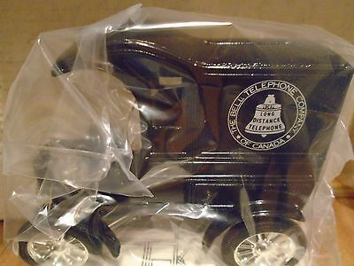 Bell Telephone Of Canada Ford 1918  Runabout Car Diecast ERTL Truck  Bank