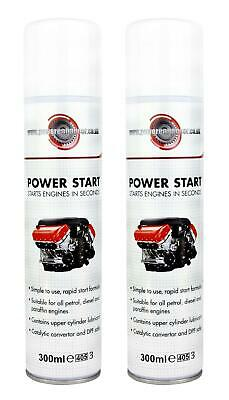 Powerenhancer Power Start Engine Easy Start Spray for Diesel & Petrol - RRP 9.95