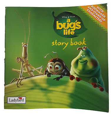 Disney Pixar A Bug's Life Storybook With Bookmakr and Stand-Up Characters