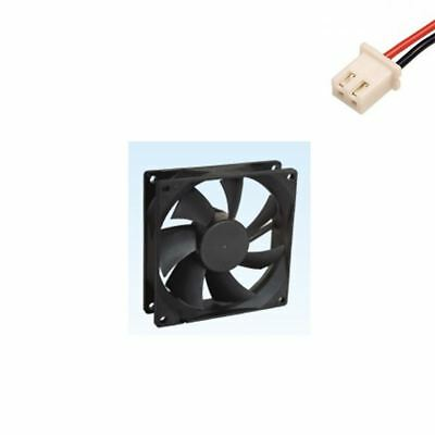 92x25mm DC 12V 0.16A Sleeve Bearing Brushless Cooling Fan 2 Pin Male