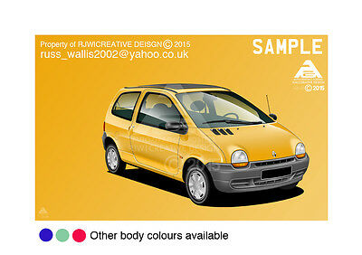 Renault Twingo A3 Poster