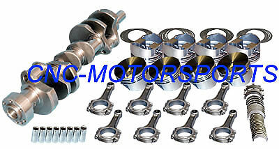 10605 Eagle Rotating Assembly KB Flat Top Pistons 6 Rod SB Chevy 355 1 pc