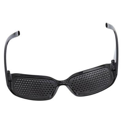 1PC Vision Anti-fatigue Eyesight Care Glasses Improver Pinhole Exercise Black LD