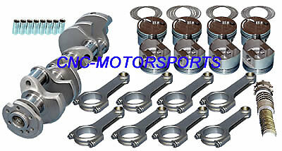 12006 Eagle Rotating Assembly Mahle Inv Dome Pistons 5.7 Rod SB Chevy 383 2 pc