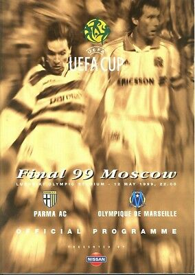 UEFA CUP FINAL 1999 Parma v Marseille (in Moscow)