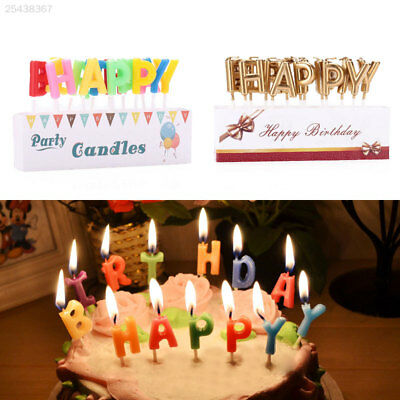 PinkBlume Gold Happy Birthday CandleStar Cake Toppers Party Decorations
