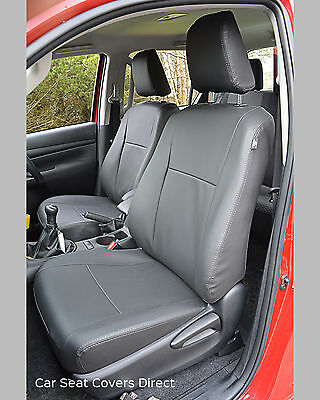 Incredible Toyota Hilux 7Th Gen Waterproof Tailored Grey Leatherette Short Links Chair Design For Home Short Linksinfo