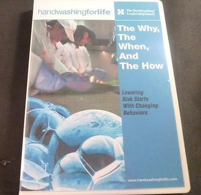 Handwashingforlife The Why The When and The How Video CD Foodservice Ed