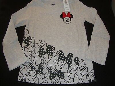 Old Navy /  Disney  Minnie Mouse Graphic Tee Shirt Nwt  Bows Bows Bows