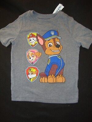 Paw Patrol /  Old Navy  Nwts  Graphic Tee Shirt Chase Rubble Skye & Marshall